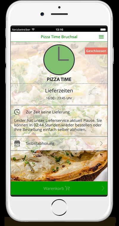 Pizza Time Bruchsal App